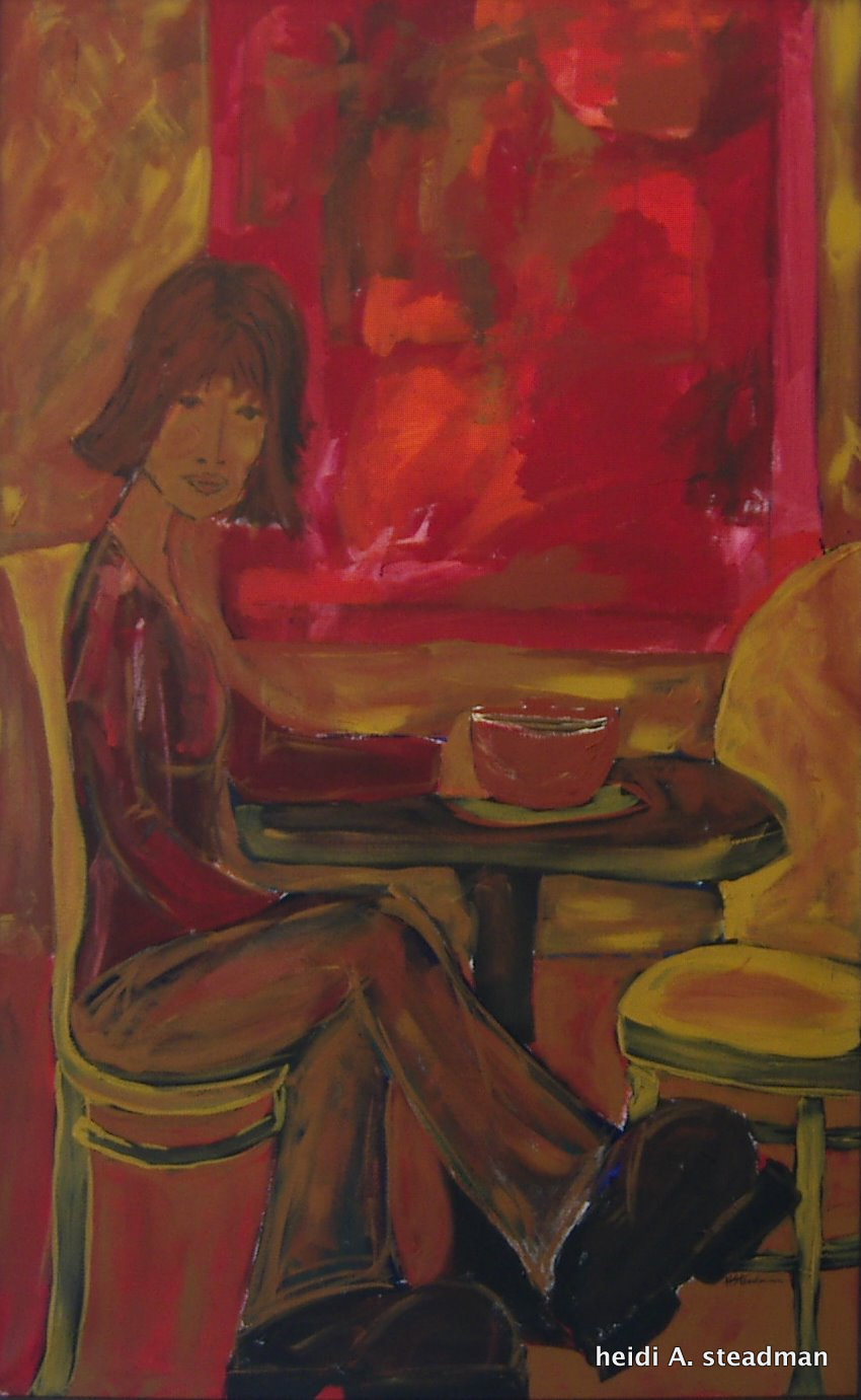 Ritual, 2003, Acrylic on Canvas