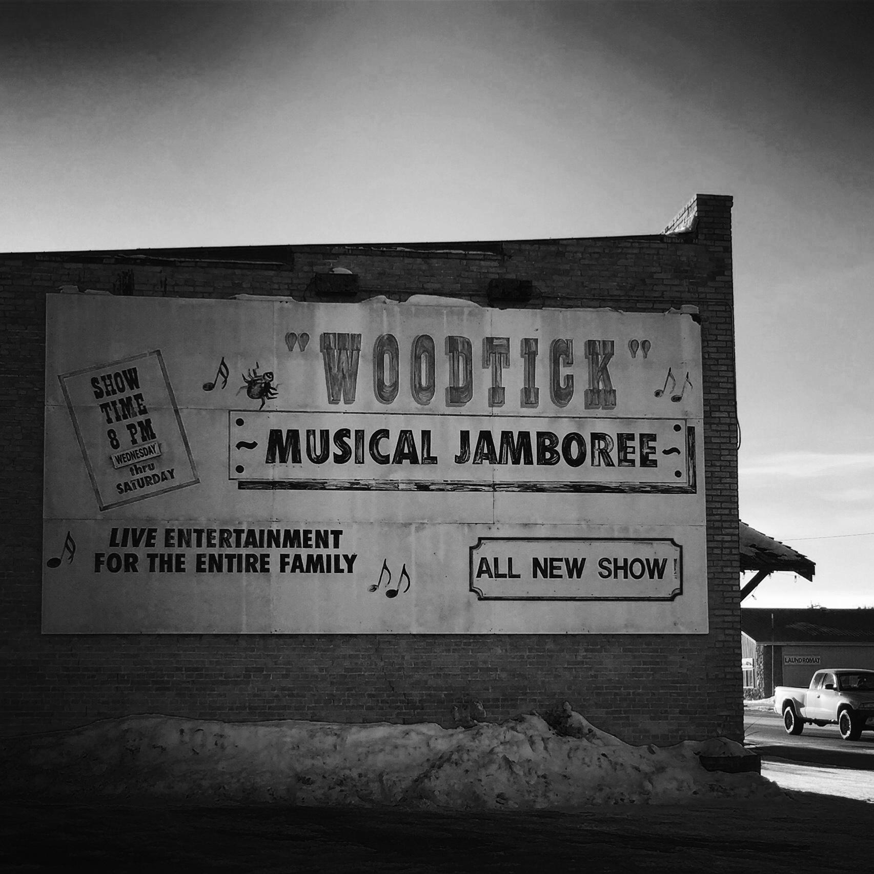 Woodtick Theater http://www.woodtick-theater.com/ Akeley, Minnesota (c) Heidi Jeub, 2017
