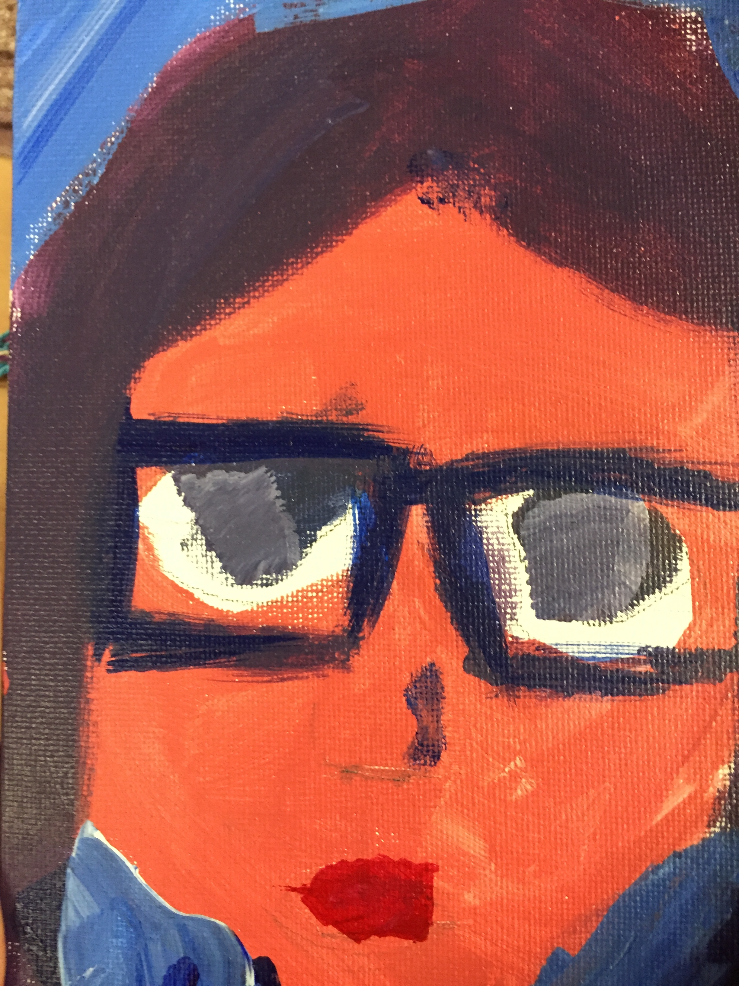 Selfies And Self   A fun way to take a youthful trend and create great art! Learners play with color, proportion and design.