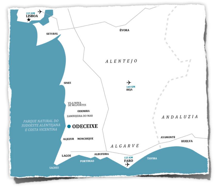 Localização- Location-map - Lagekarte