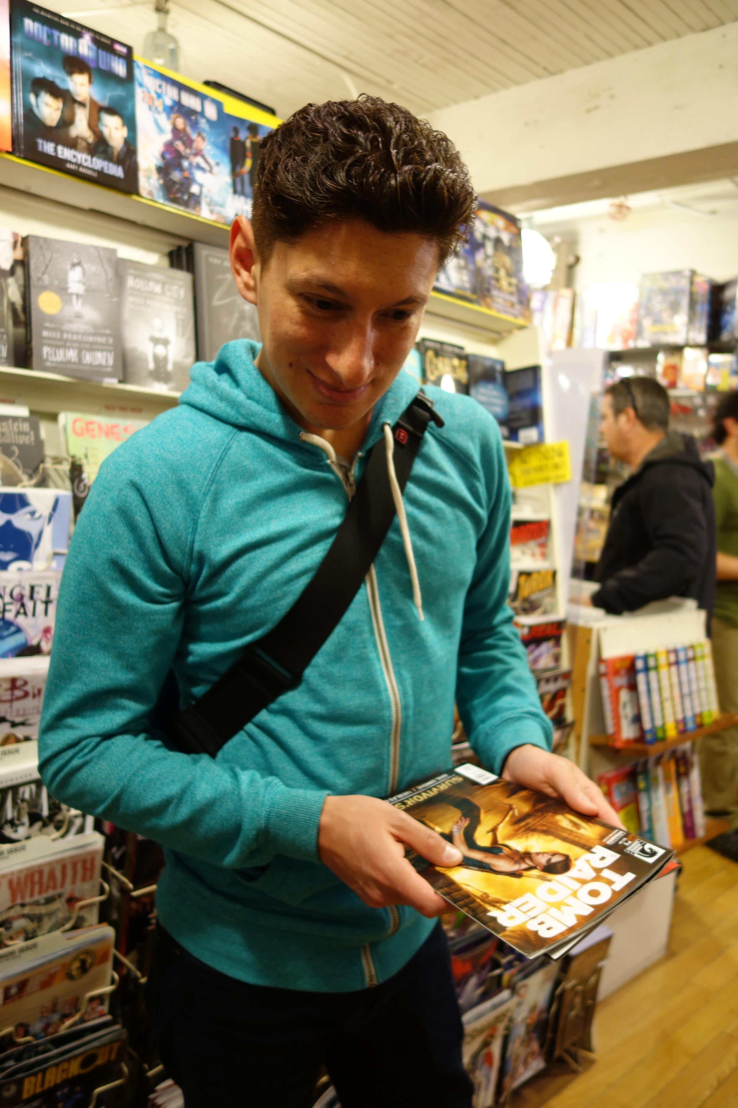 DSC00857 Richard Shops for Comics.JPG