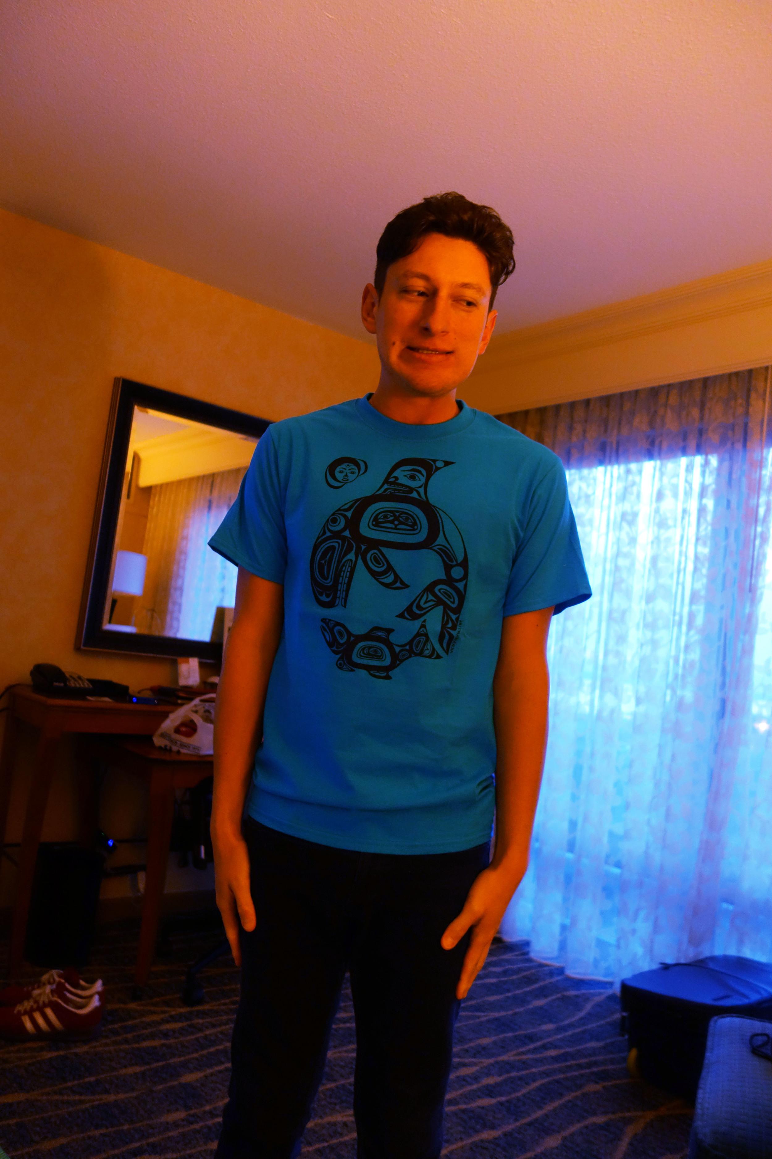 DSC01033 Richard's Not a Penguin Shirt.JPG