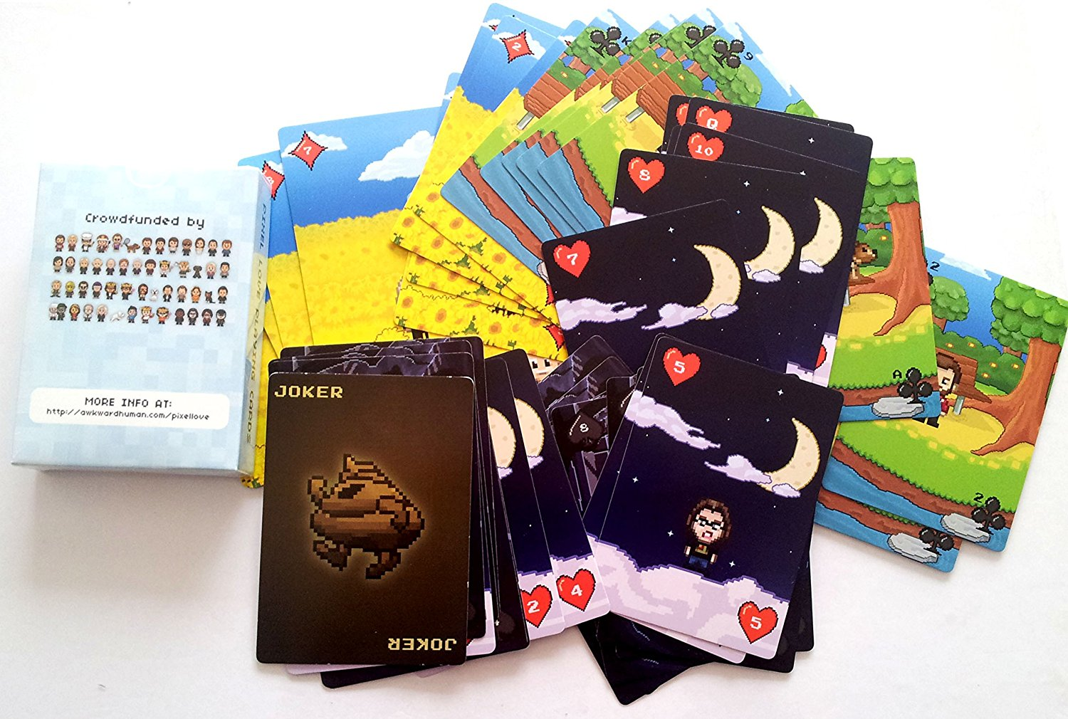 PixelLove Playing Cards