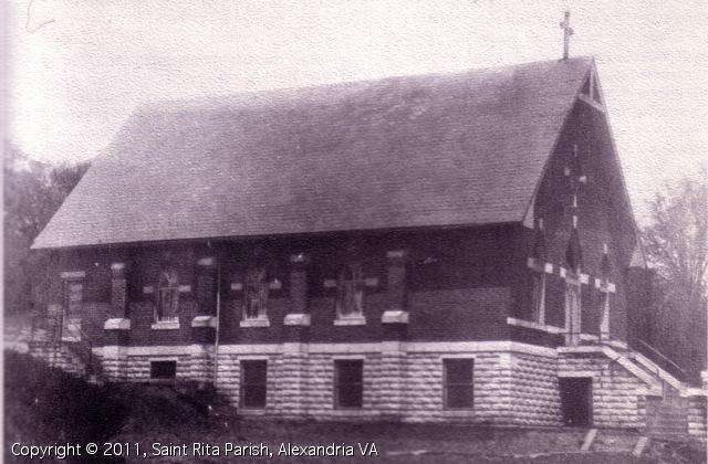 Original St. Rita's Church on Hickory Street, Mt. Ida