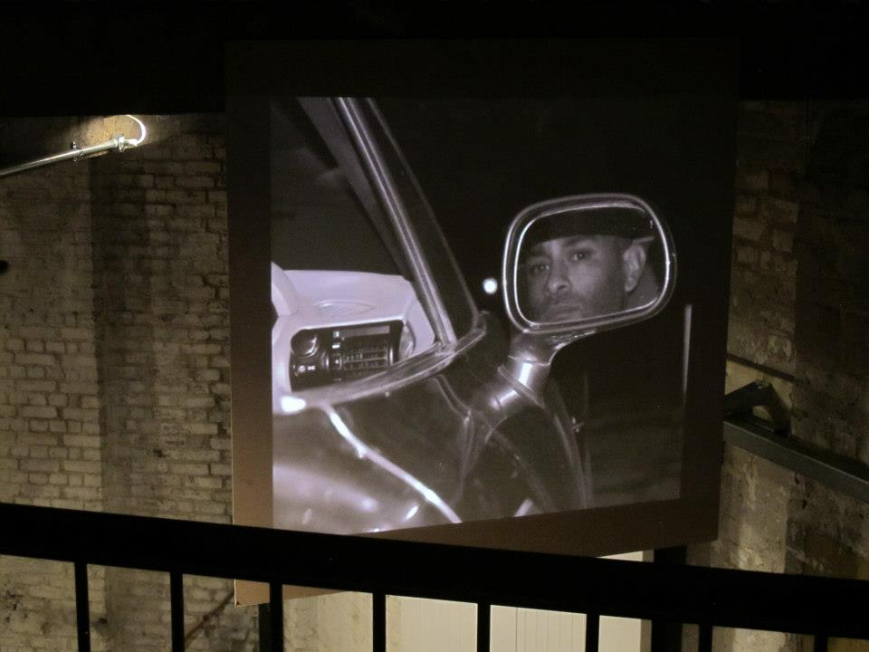 raba Ocran's powerful documentary photography  at animamus in london at bad behaviour october 2012.