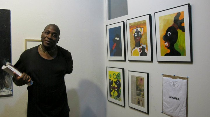 effrey Hargrave and his pieces at july 2011's gatheirng.