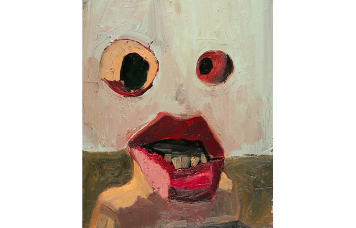 Nicholas Burgess, Krugg, Oil on Canvas, 18 x 24 inches, 2011
