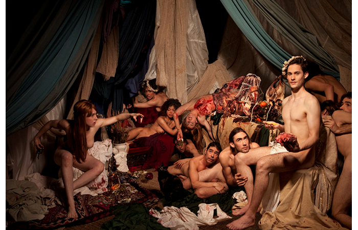 Ventiko, Bacchanal, Digital C Photograph, 40 x 60 inches, 2012