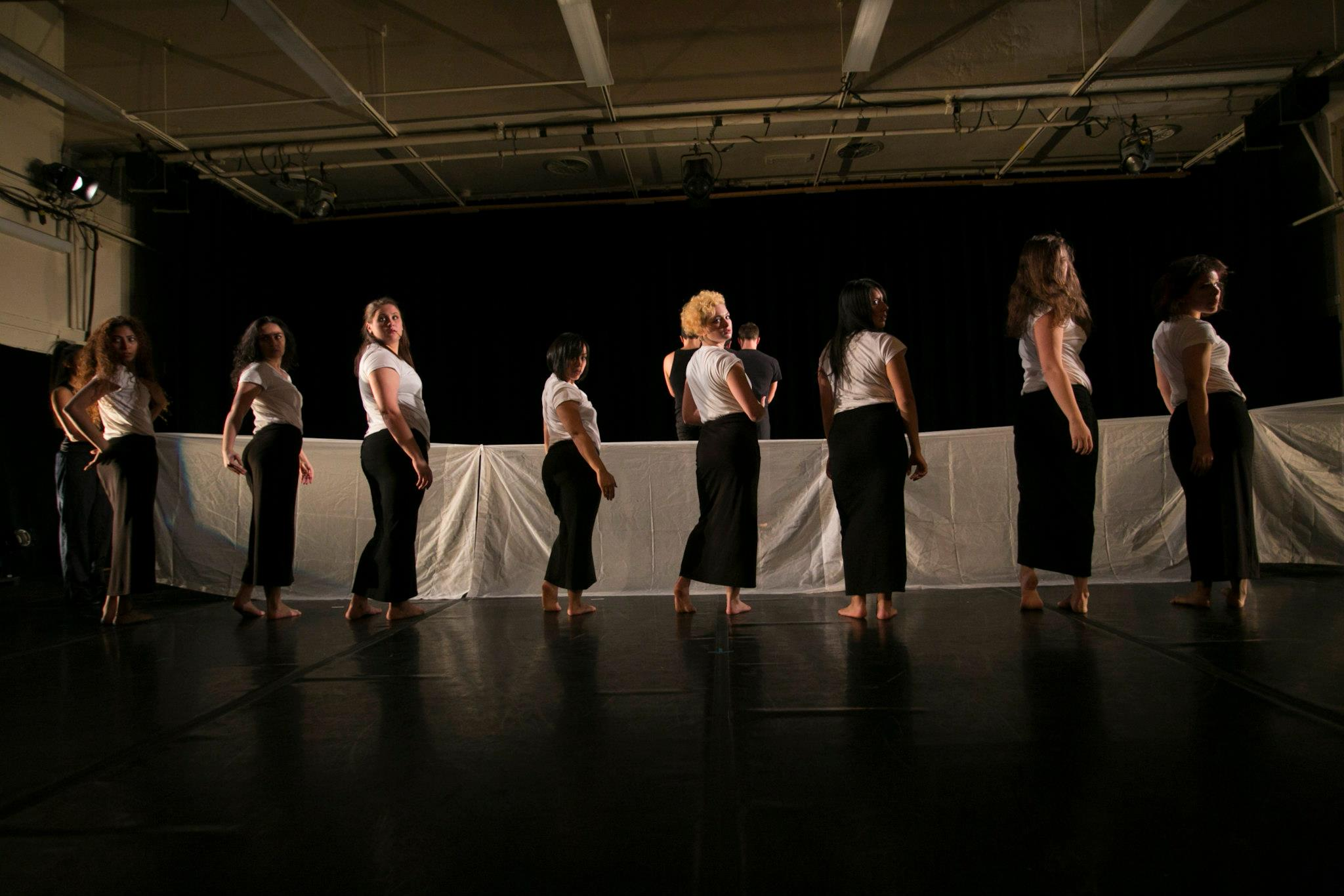 Florence Nasar, Women's Section, original choreographic work, Performance Shot  by Whitney Browne, 2012