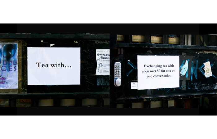 Karolina Magnusson-Murray, Tea With..., Performance During Hackney Wicked Festival, 2012