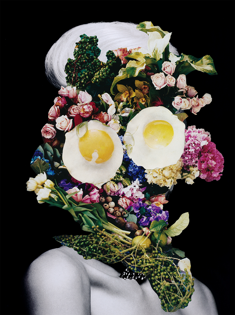 Collagism, Flawless, Digital Manipulated Collage, 2013