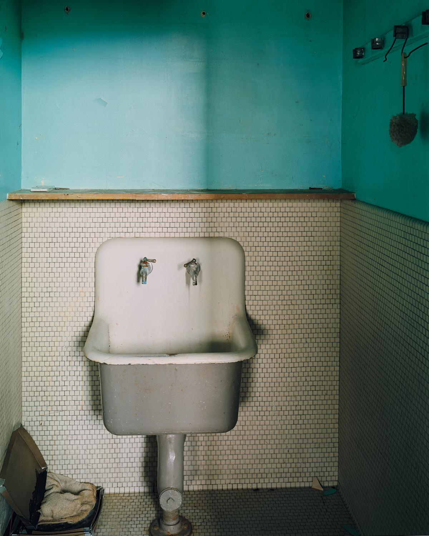Basement closet sink, Cottage 5.