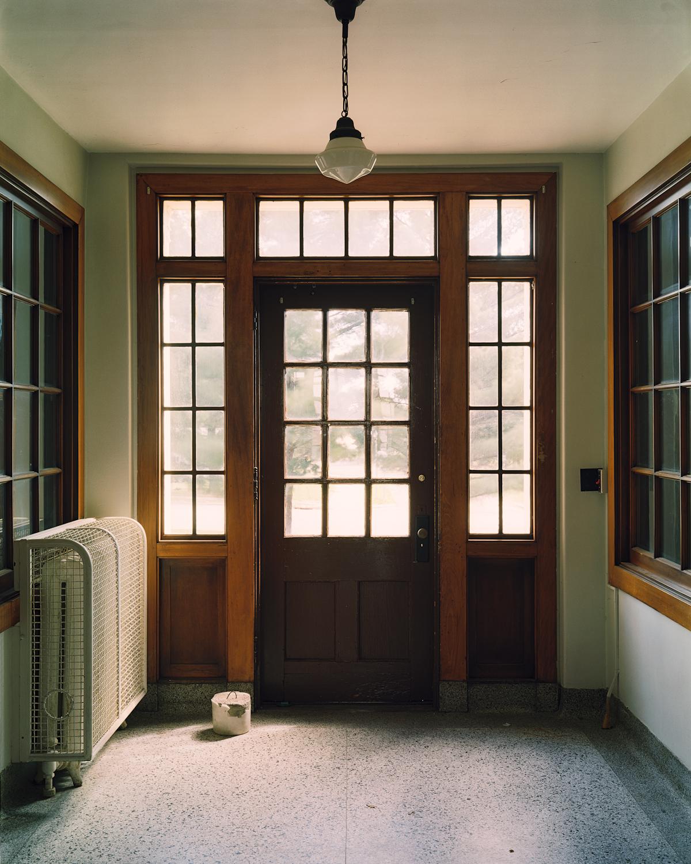 Front door, Cottage 1.