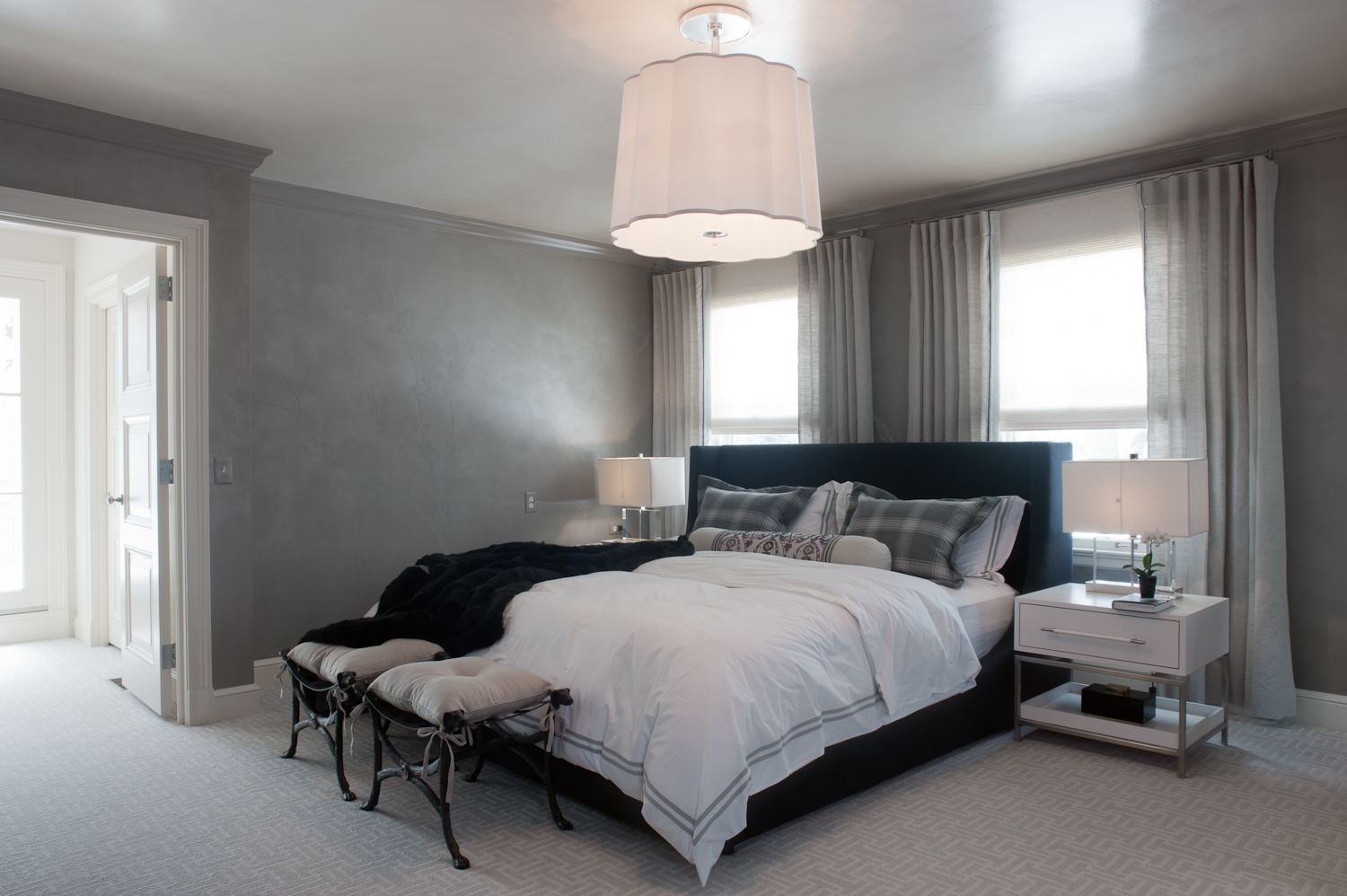 Master bedroom, 2014 ASID Showcase Home