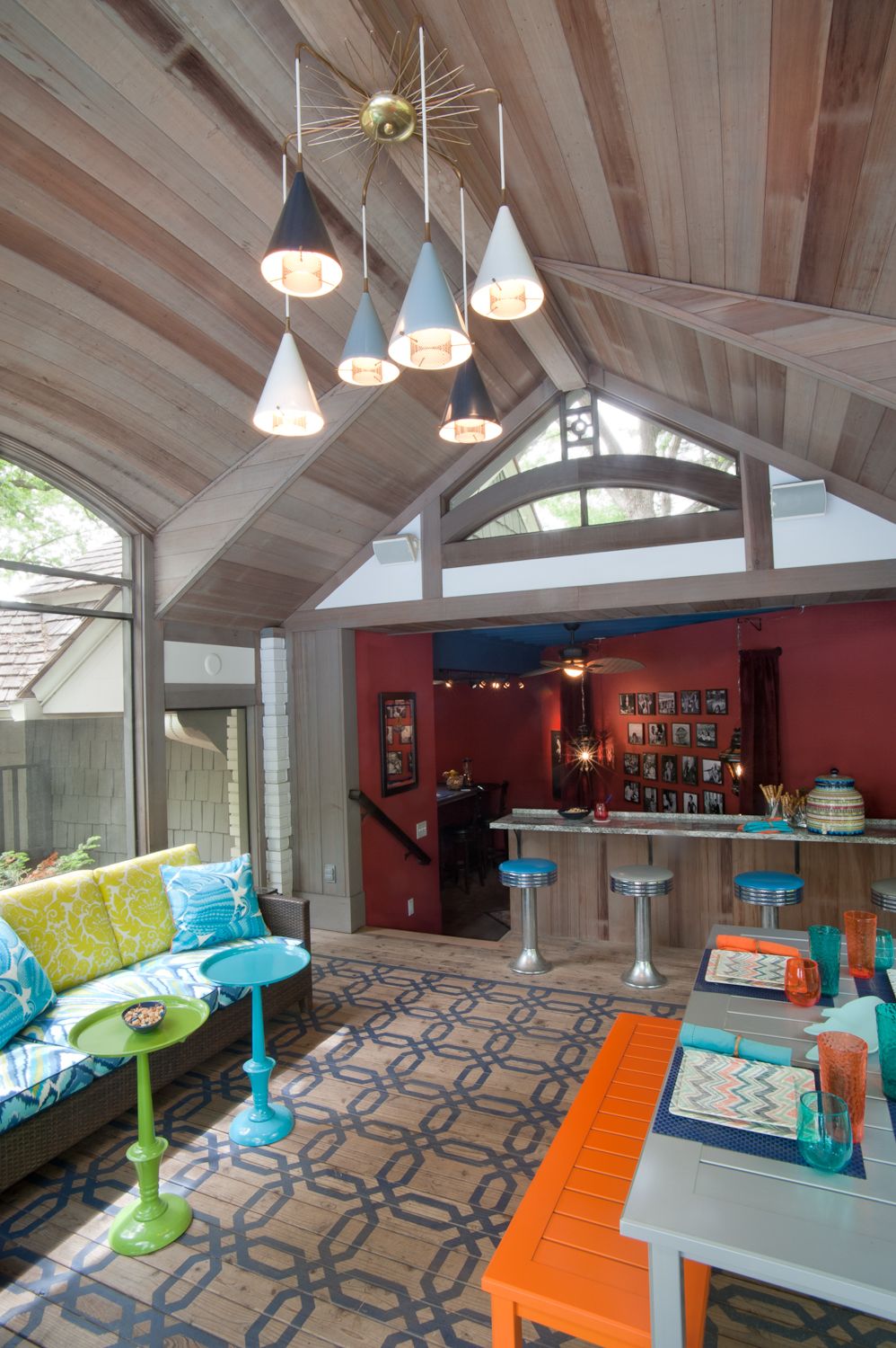 Pool house, 2014 ASID Showcase Home