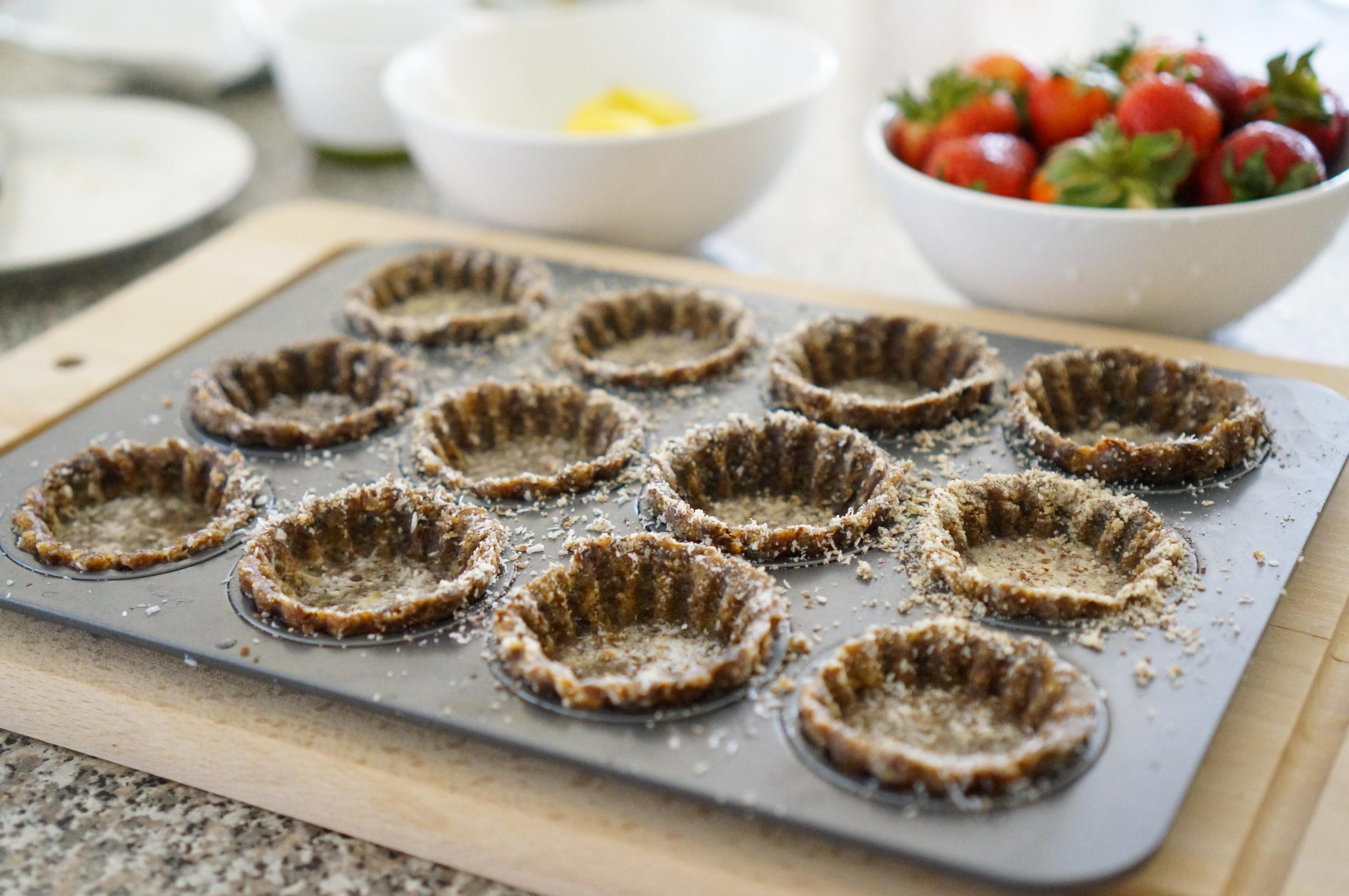 vegan tart shells