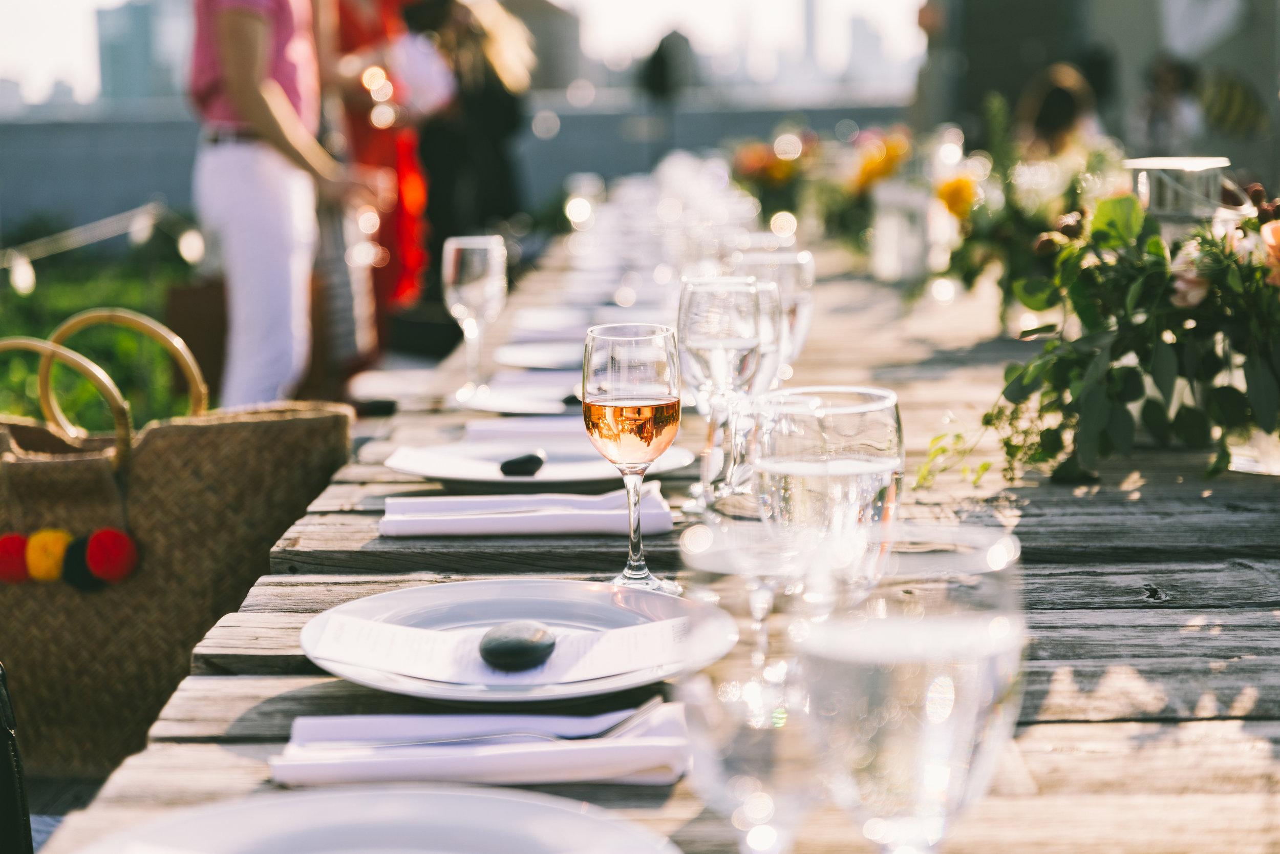 fohr summer sweetgreen brooklyn grange table top