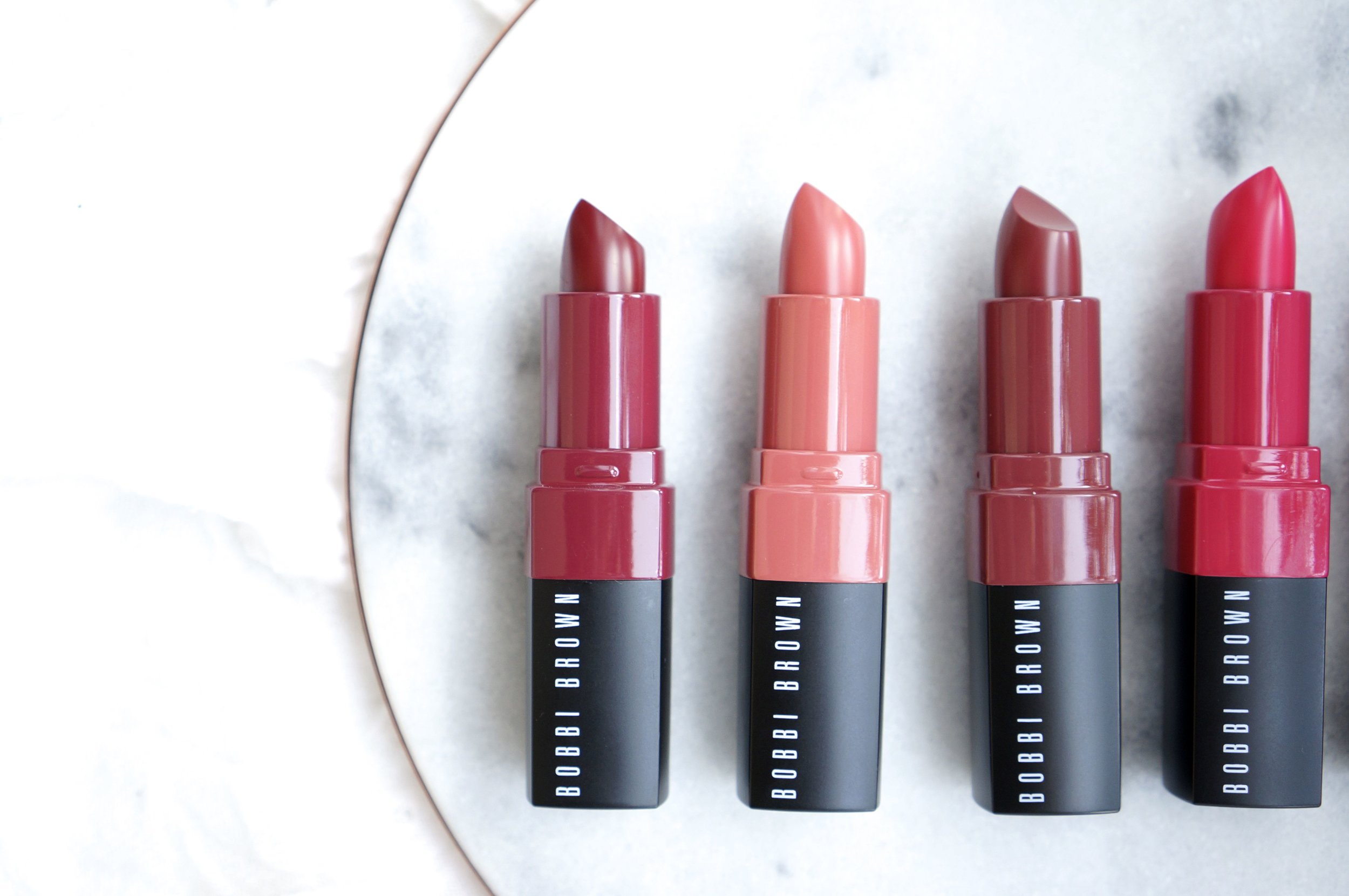 bobbi brown crushed lip color favorites