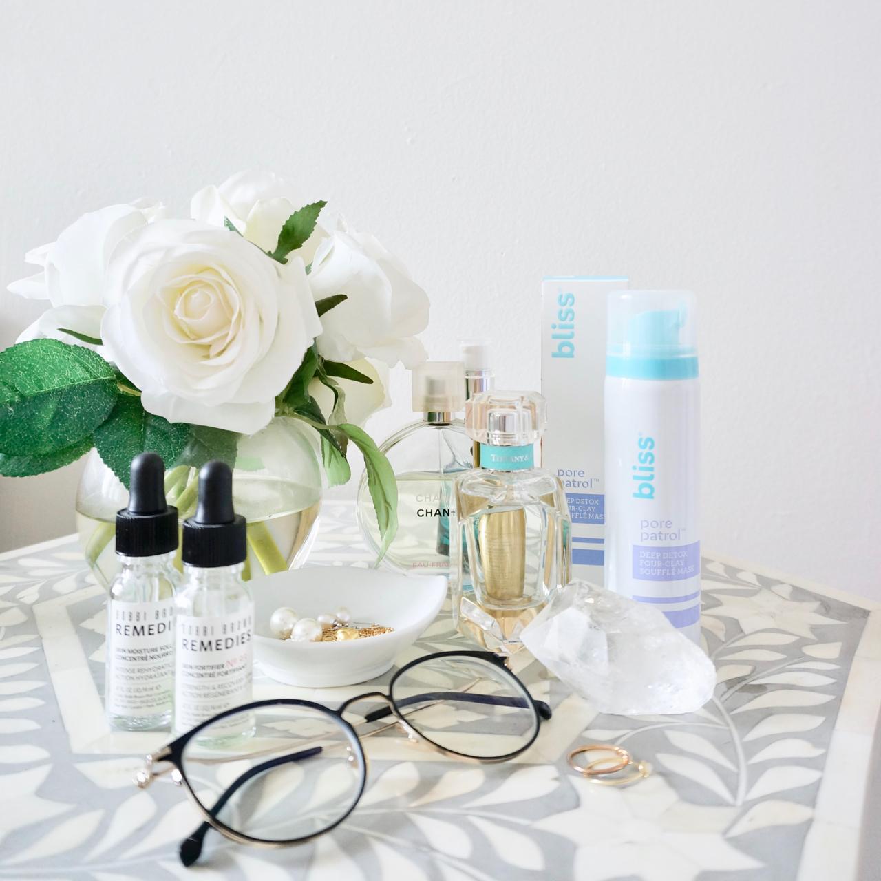 bliss pore patrol beauty shelfie