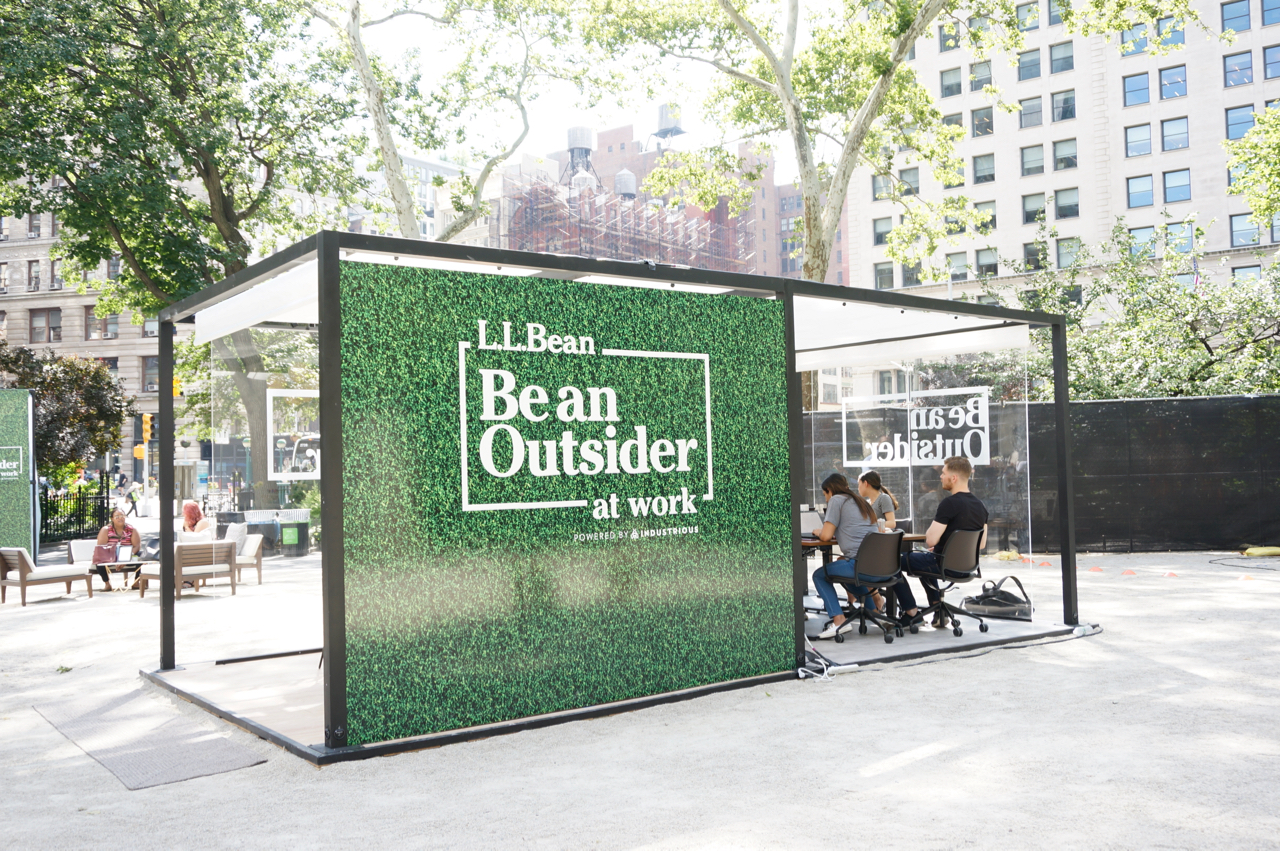 be an outsider llbean coworking madison square park.jpg
