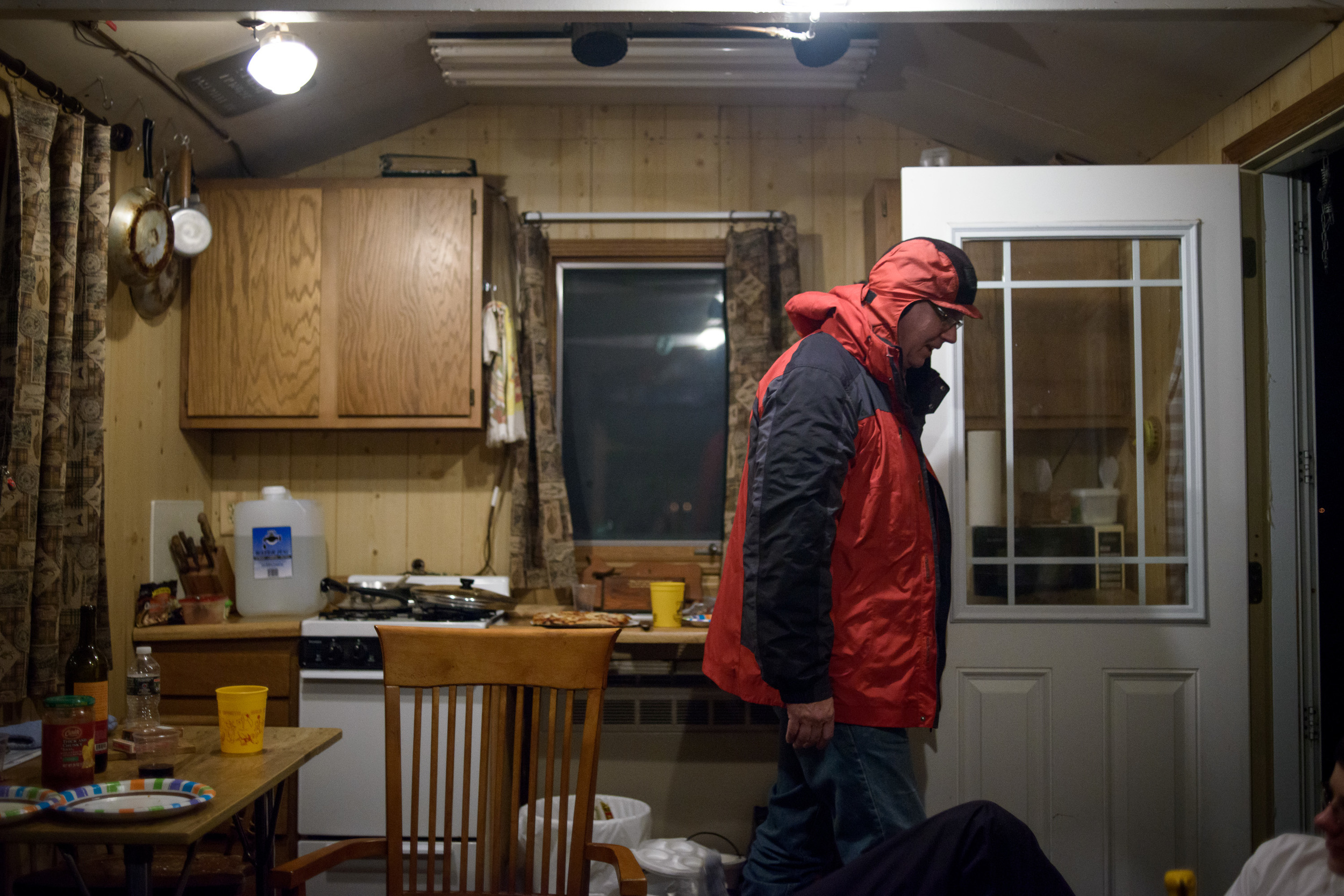 Ice Fishing House - Steve Olson