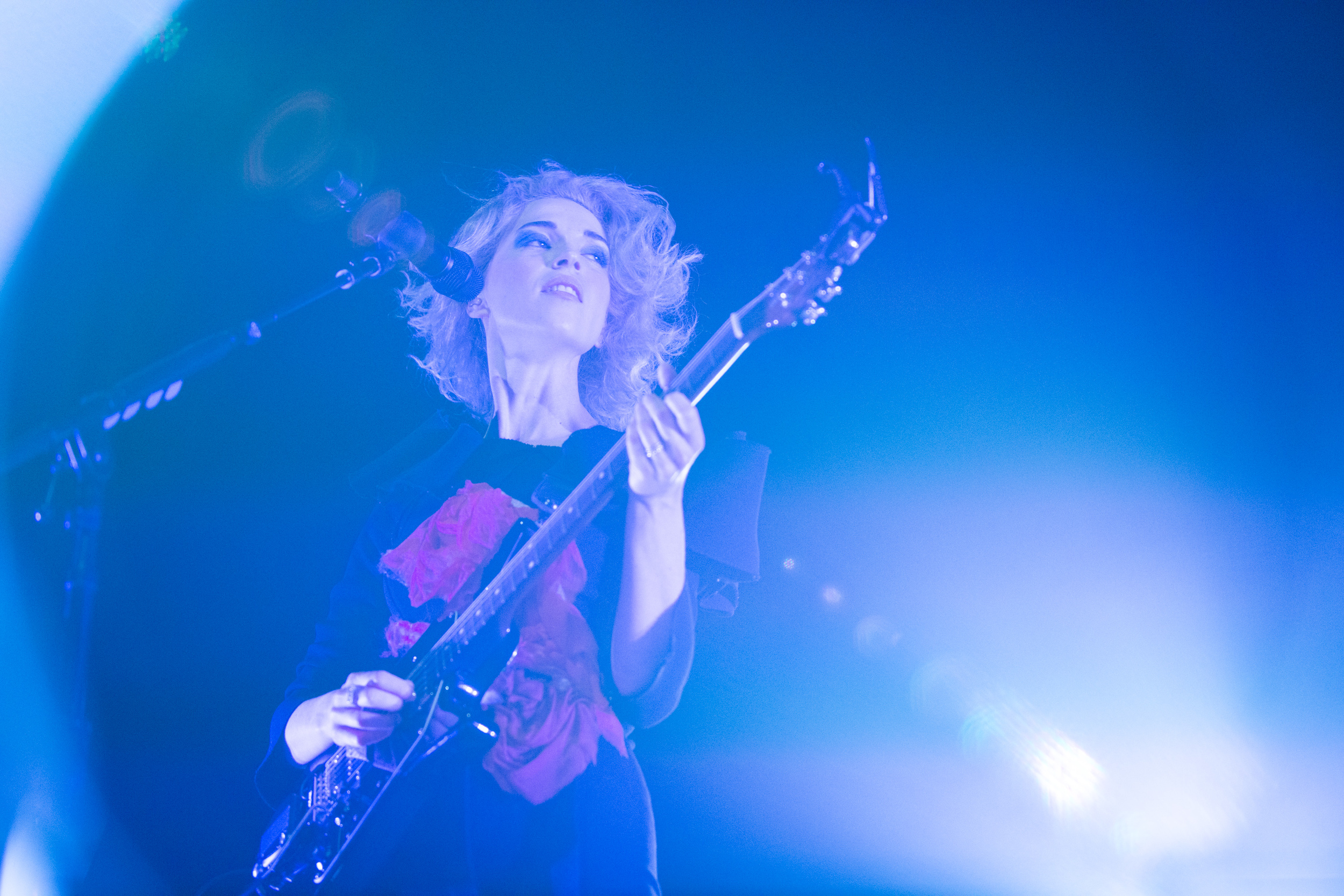 St Vincent at the State Theater in Minneapolis.