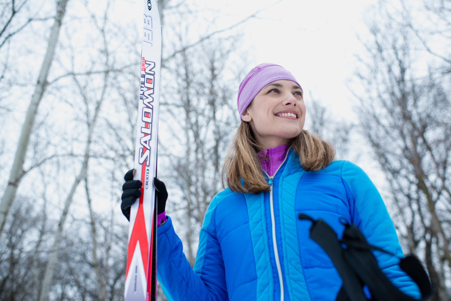 Michelle - XC Skiing