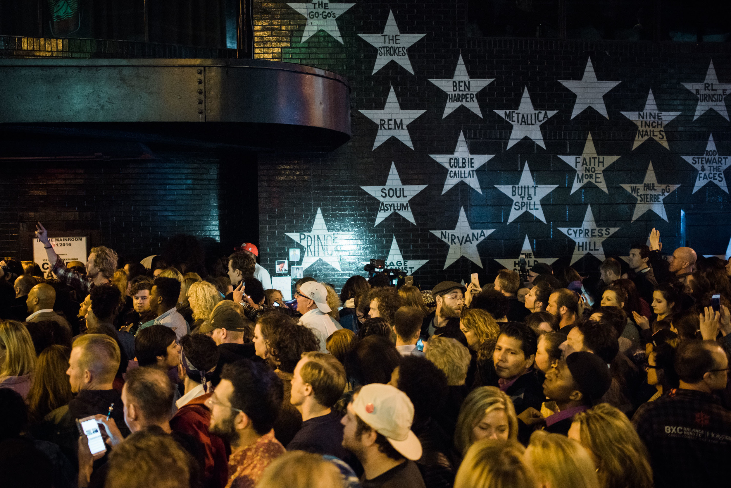 Prince Star - Side of First Ave.