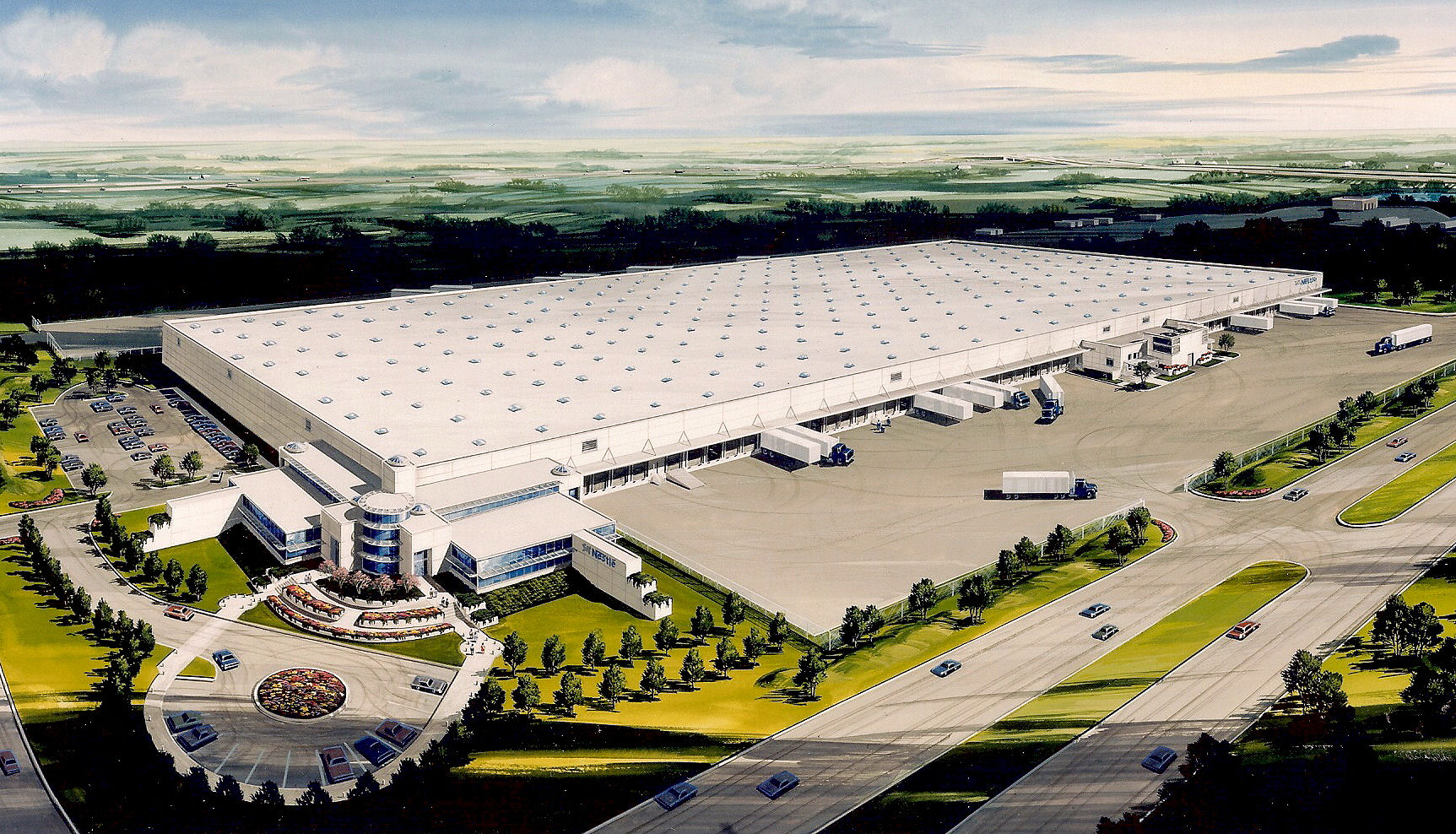 Nestle Distribution Center in Fort Worth