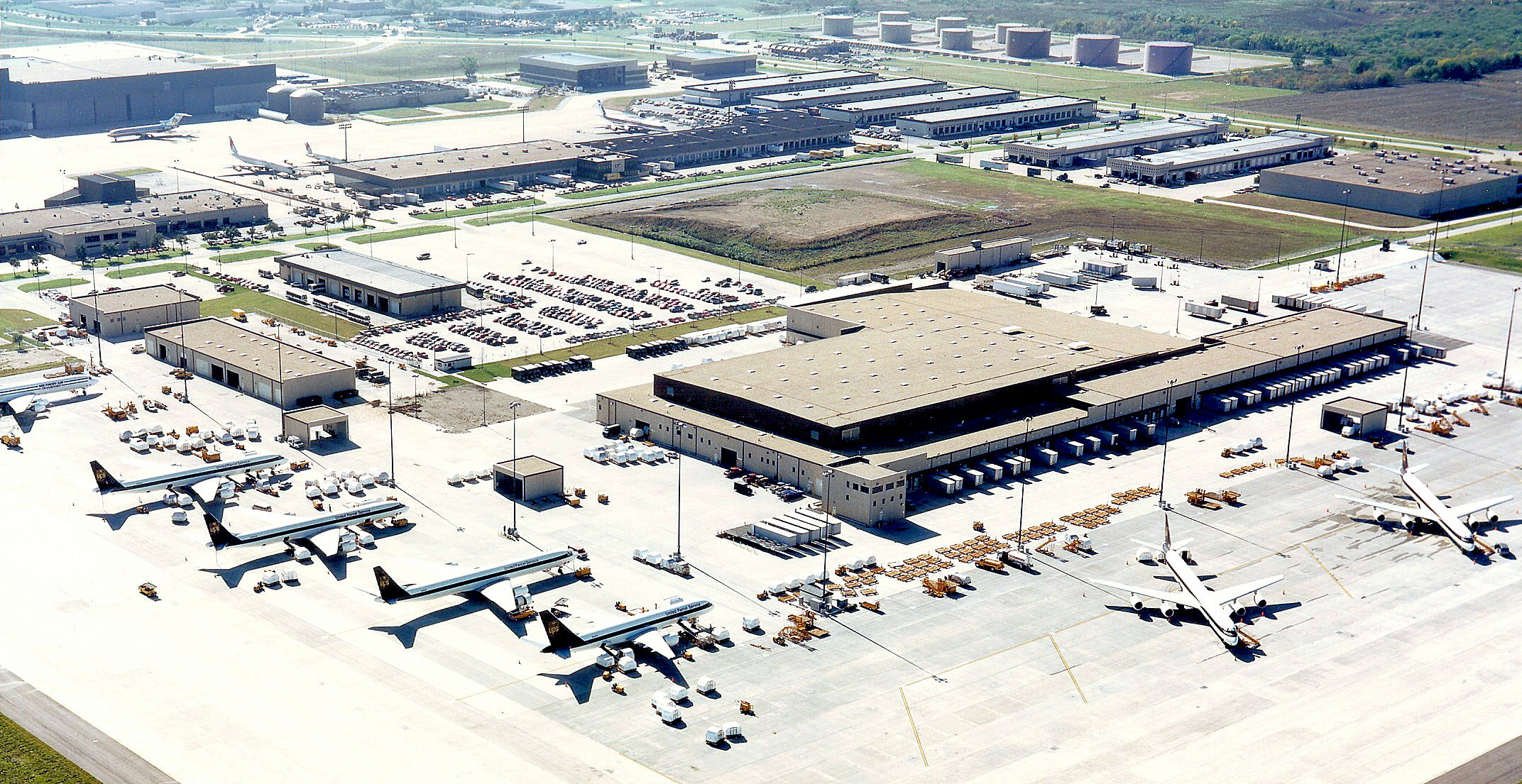 UPS Regional Air Cargo Distribution Facility at DFW International Airport