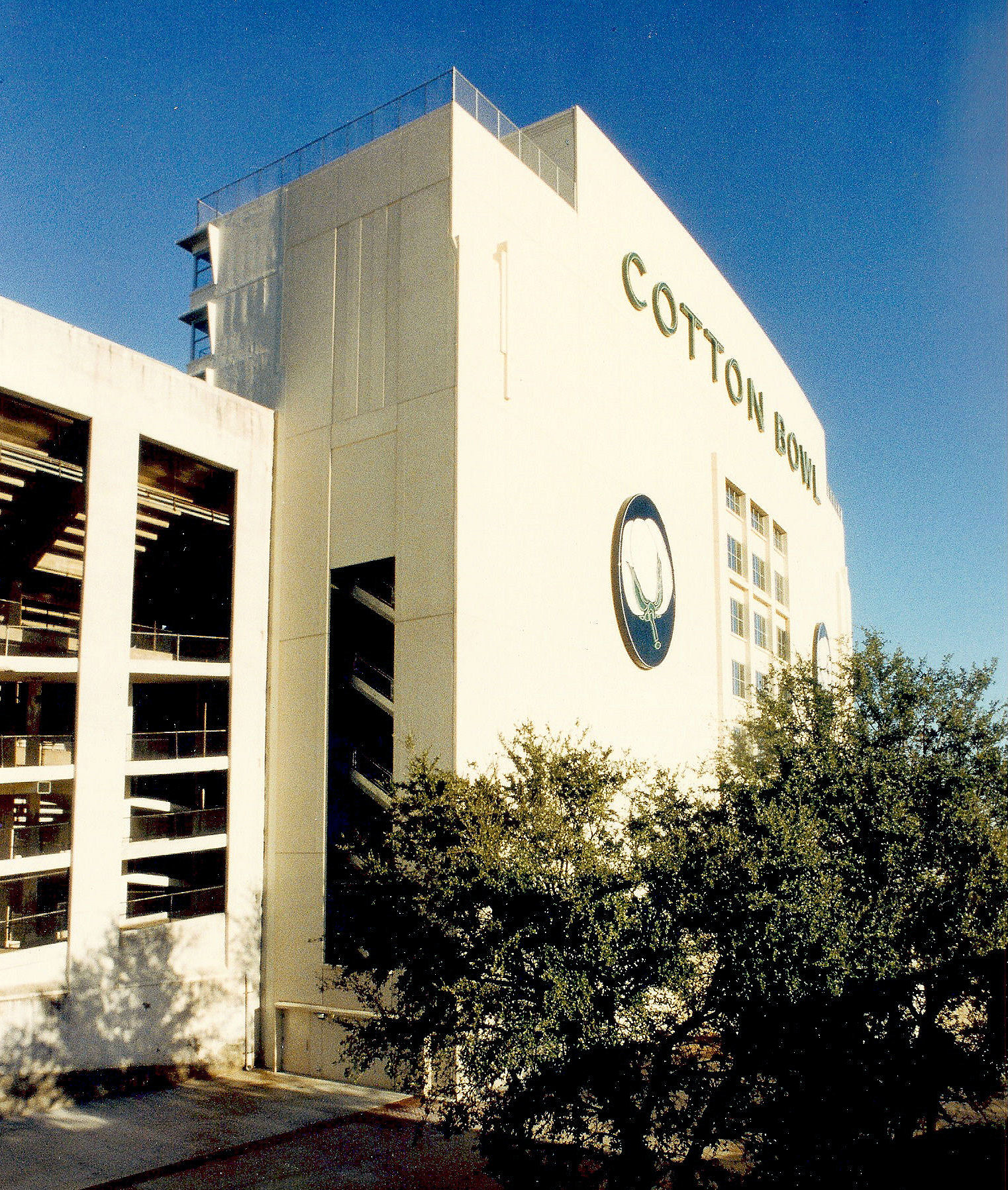 Cotton Bowl Stadium in Dallas at Main Entrance