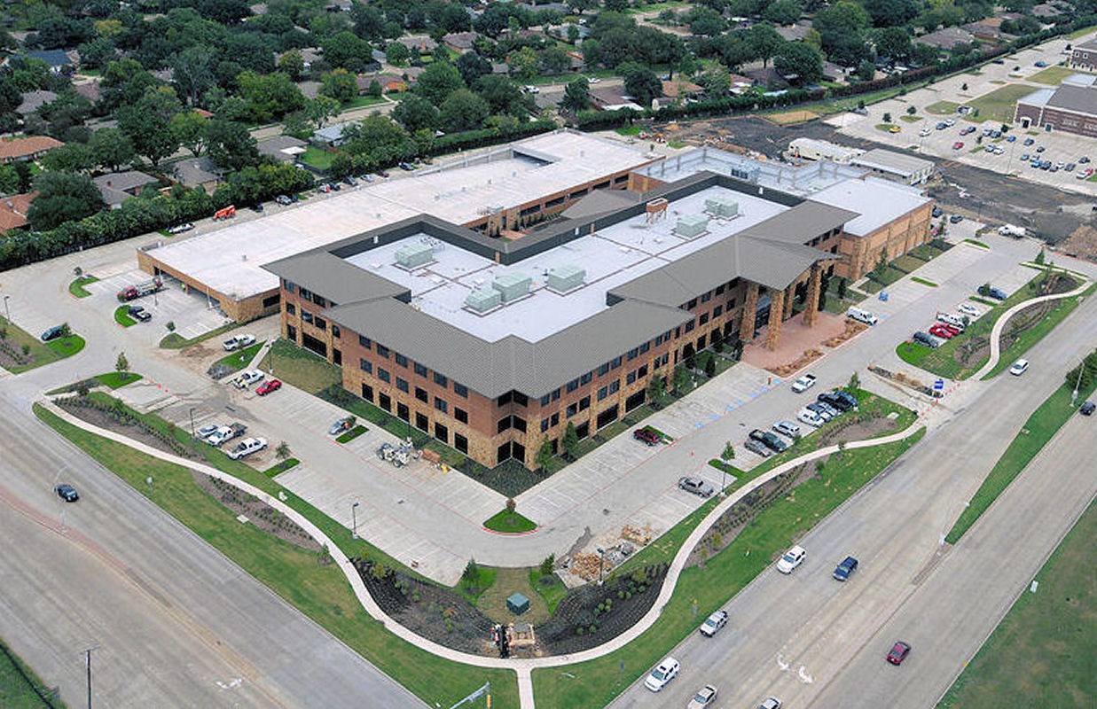 Hope Center in Plano Aerial View
