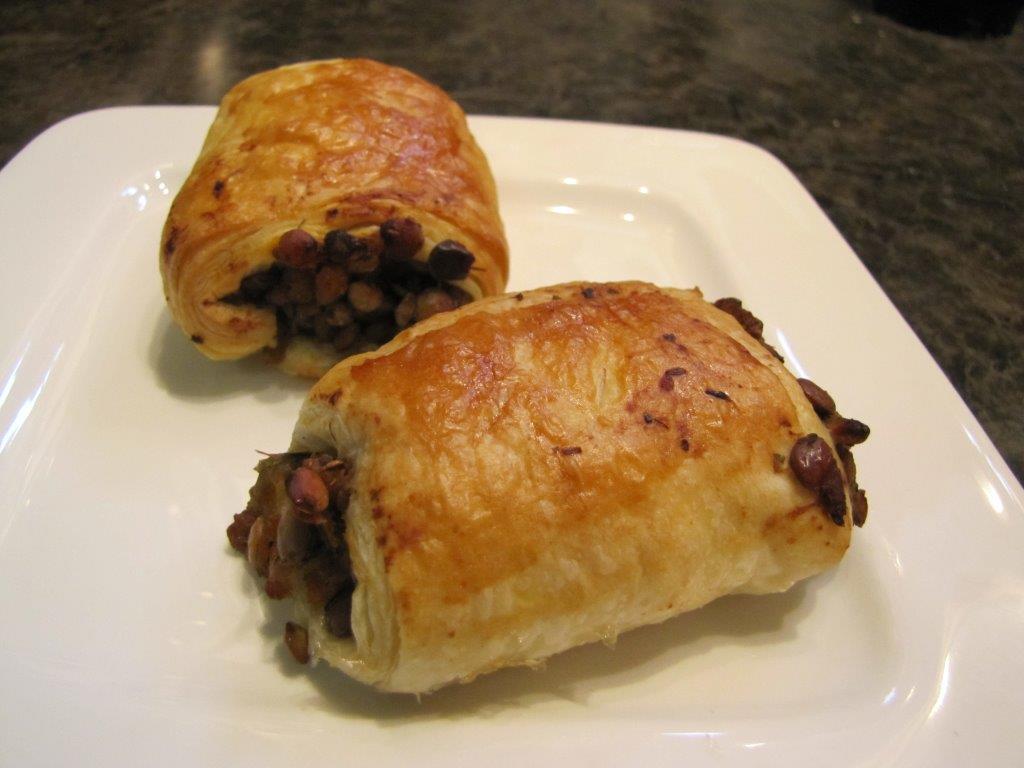 Sausageless Sausage Rolls