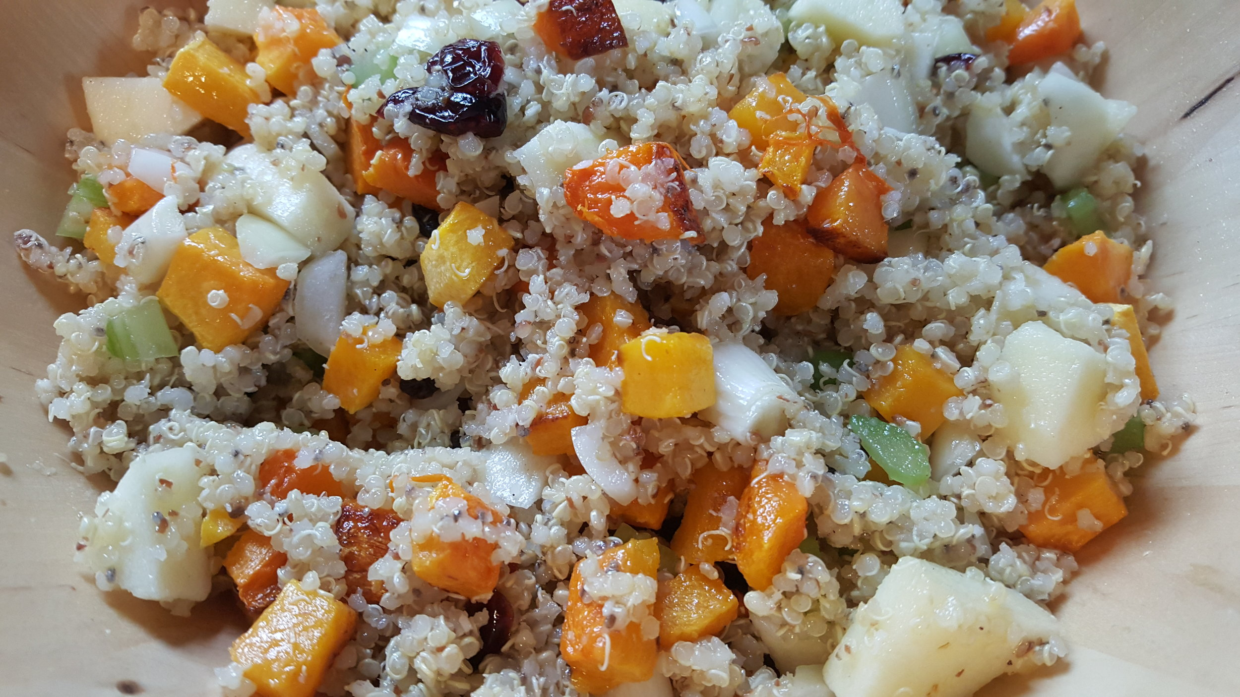 Roasted Butternut Squash & Quinoa Salad