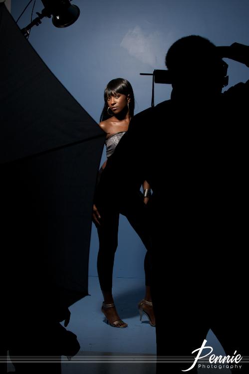 Model: Toronda Lee.