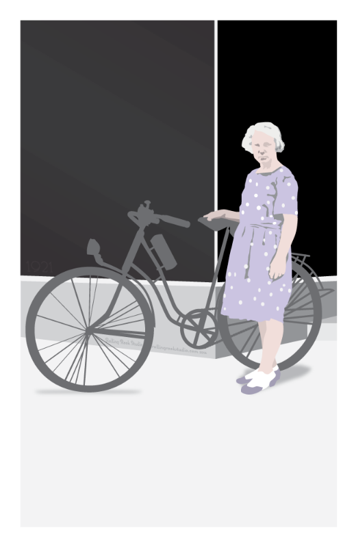 Poster created by Rolling Rook Studio for Papergirl Vancouver 2014