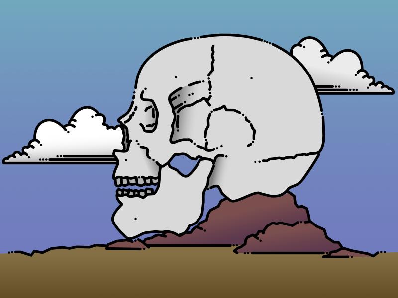 Desert Skull