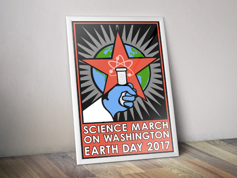 Poster Design - For Earth Day 2017Washington, DC, USA