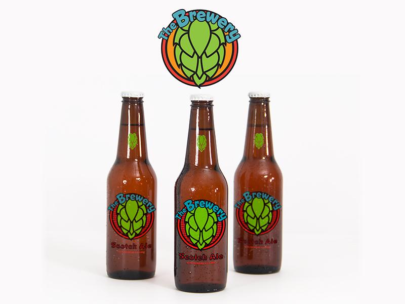 Beer Bottle Design - The Brewery