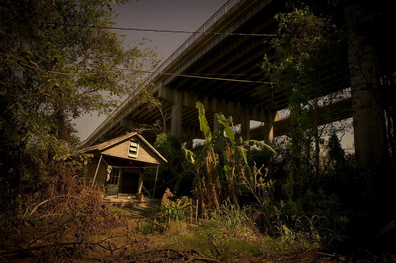 My grandmother's abandoned shack, Mckain Street, New Orleans