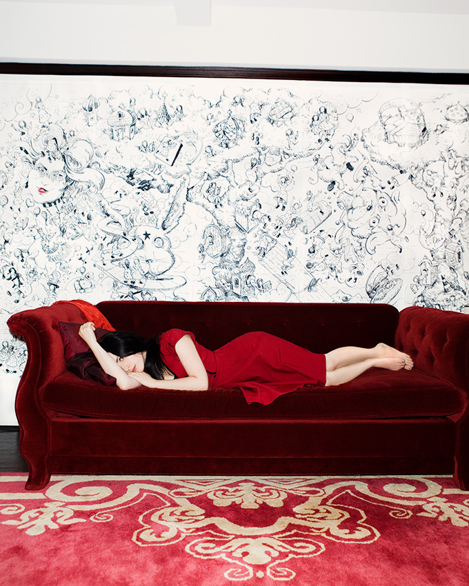 Molly Crabapple, artist