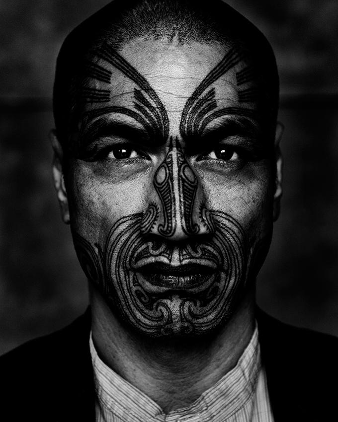 Vic Taurewa Biddle, Maori warrior and activist. New Zealand.