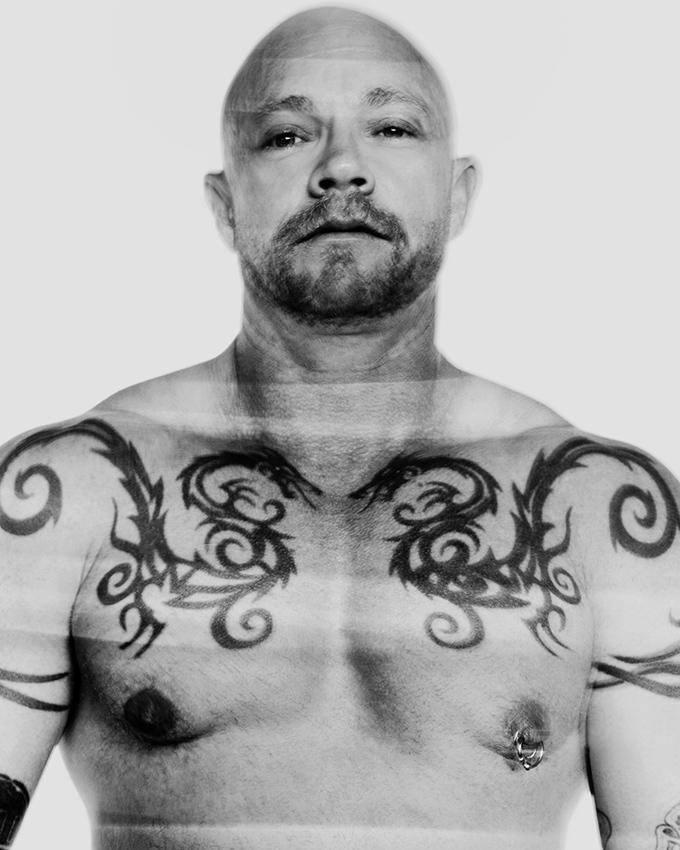 Buck Angel, transgender porn star and activist.