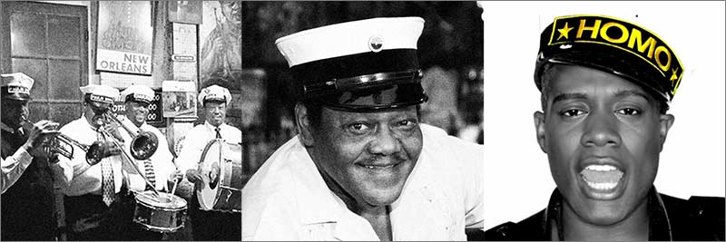 Carrying on the tradition: a New Orleans marching band, Fats Domino, Nicky Da B
