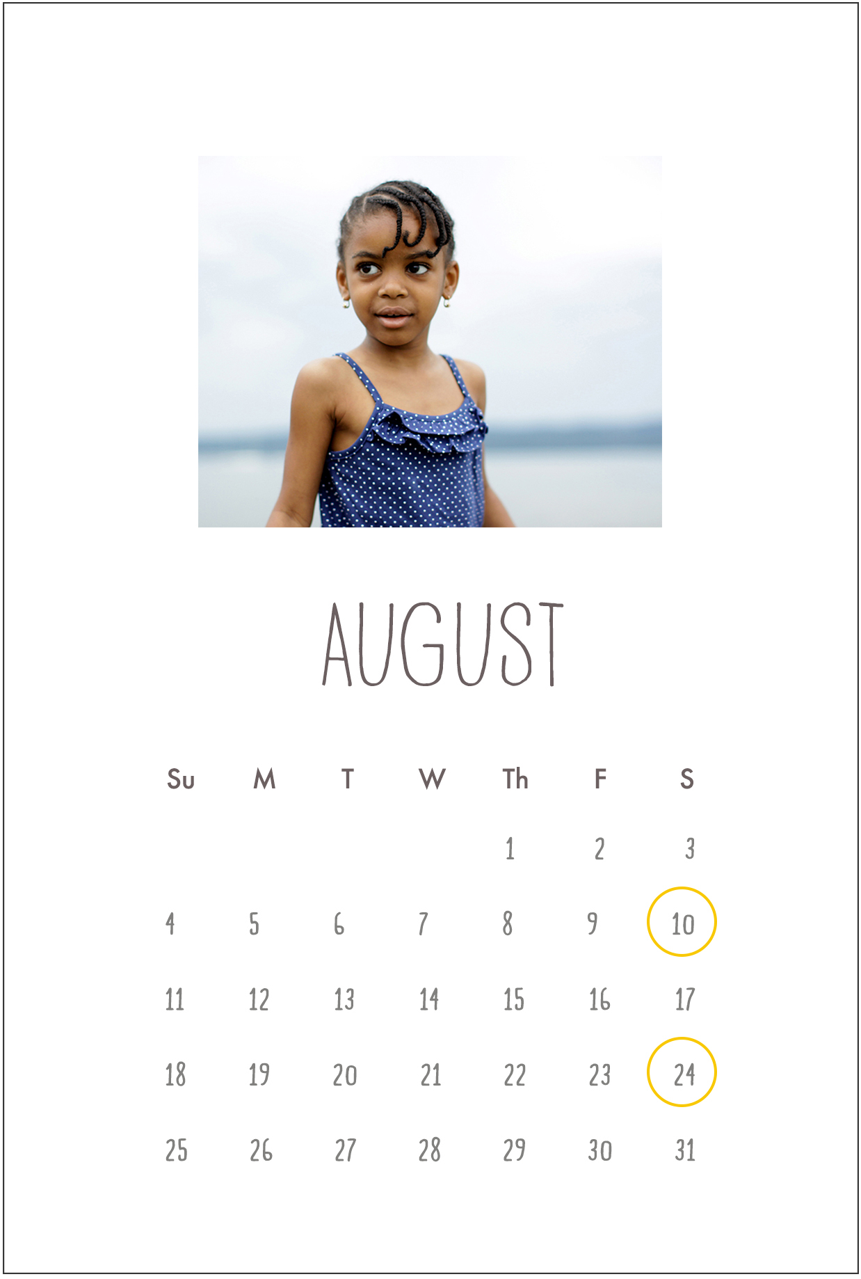 Summer calendar for natural light photography in NYC & Westchester County for families, kids, babies.