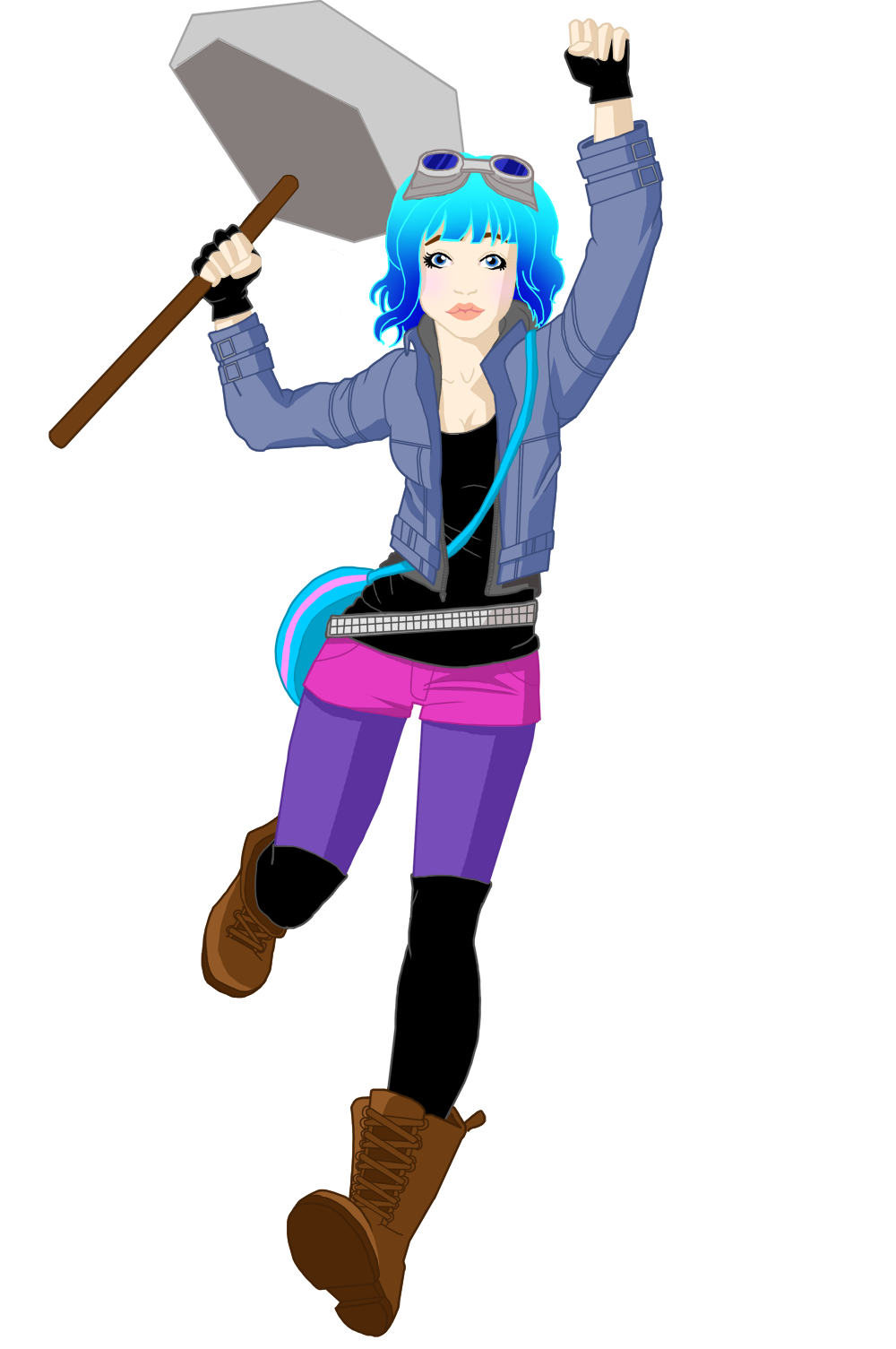 Ramona Flowers, from Scott Pilgrim
