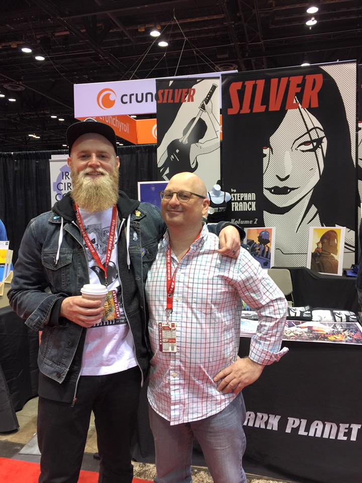 Stephan with the brilliant Andrew MacLean