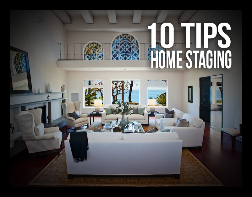 Getting your home ready for the market?  My top 10 tips to home staging.