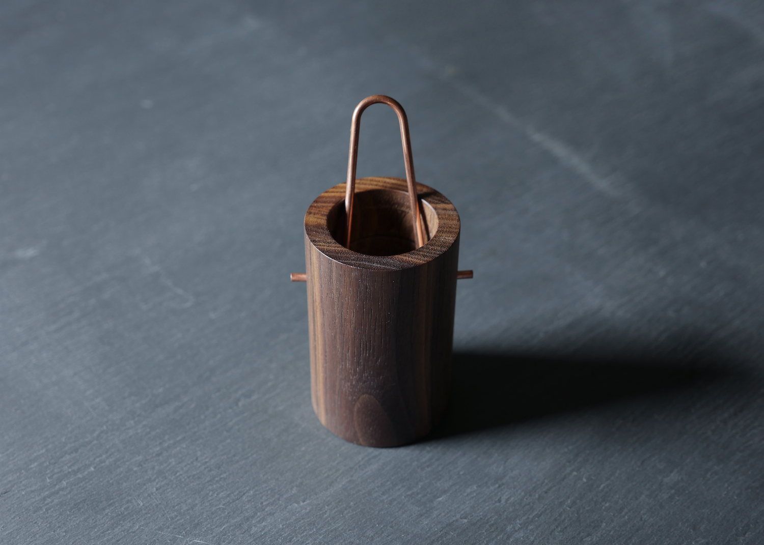 Vessel / Walnut + Copper