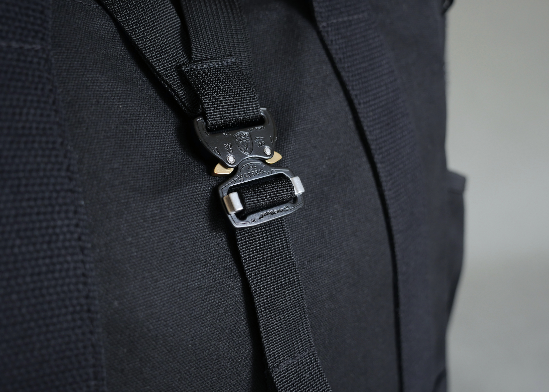 High quality Cobra® quick release buckles - the only choice in our minds to maintain a high level of functionality and durability.